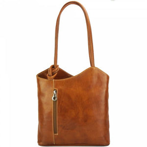 Convertible Handbag, Vintage Leather [Ready to Ship]