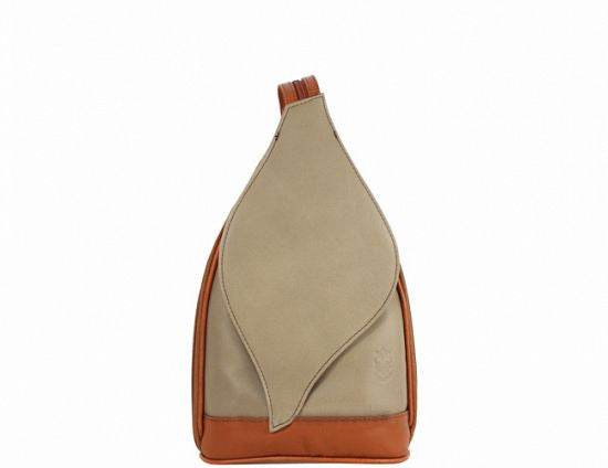 Convertible Leaf-Shaped Backpack