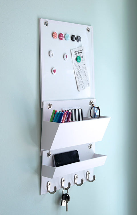White Hanging Wall File System