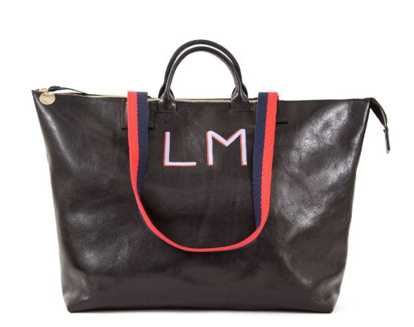 My Current Work Bag - The Clare V Le Zip Bag With Monogram