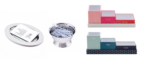 Pencil Cups and Trays to Organize Your Desktop