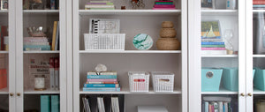 Hidden in plain sight. Ditch the bulky filing cabinet.