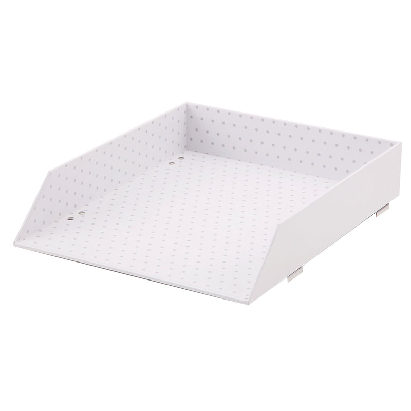 See Jane Work® Letter Tray, White - see-jane-work