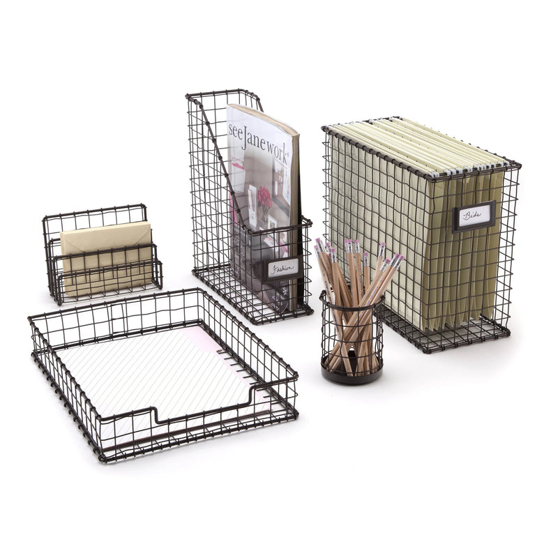 See Jane Work®  Wire File Holder - see-jane-work