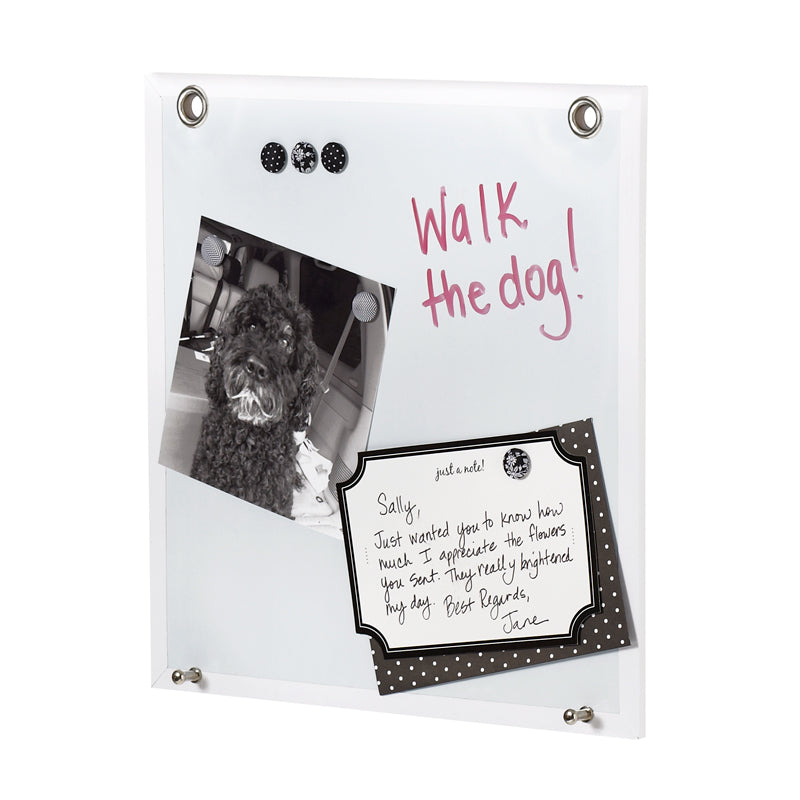 See Jane Work® Wall System - Dry Erase Mag - see-jane-work