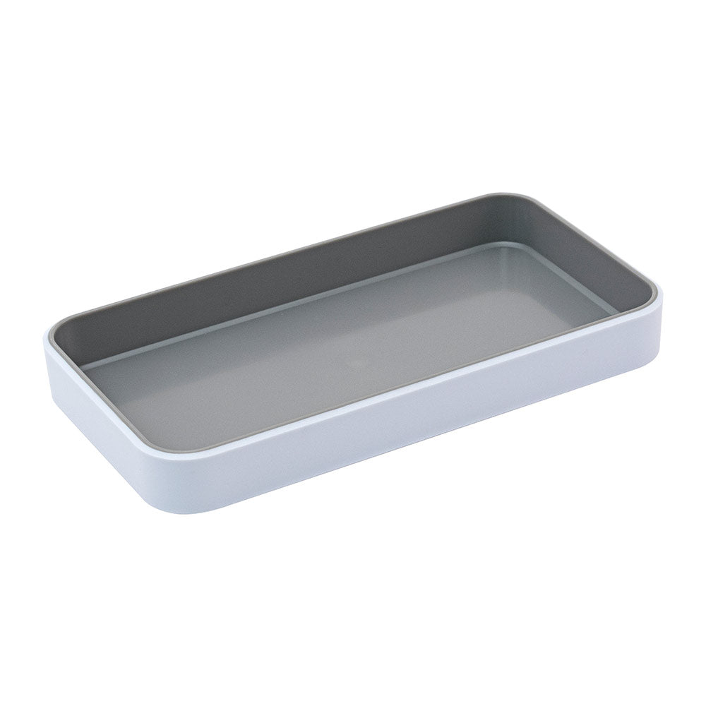 Fusion Small Open Tray - White and Gray - see-jane-work