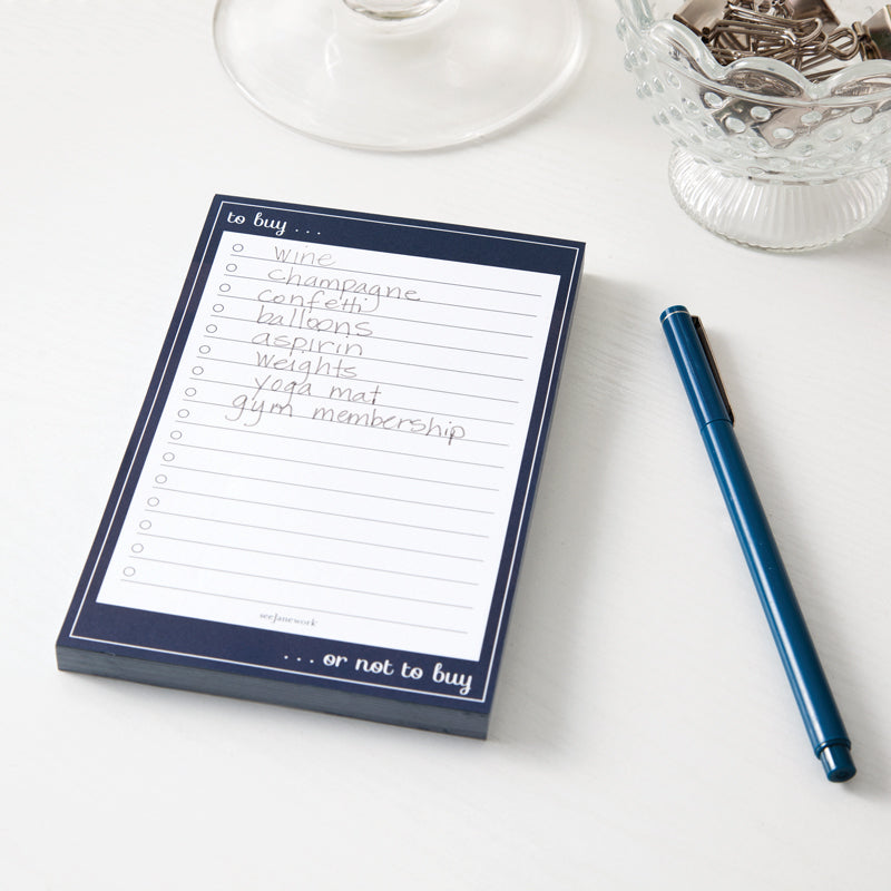 See Jane Work® To Buy Sticky Notepad - see-jane-work