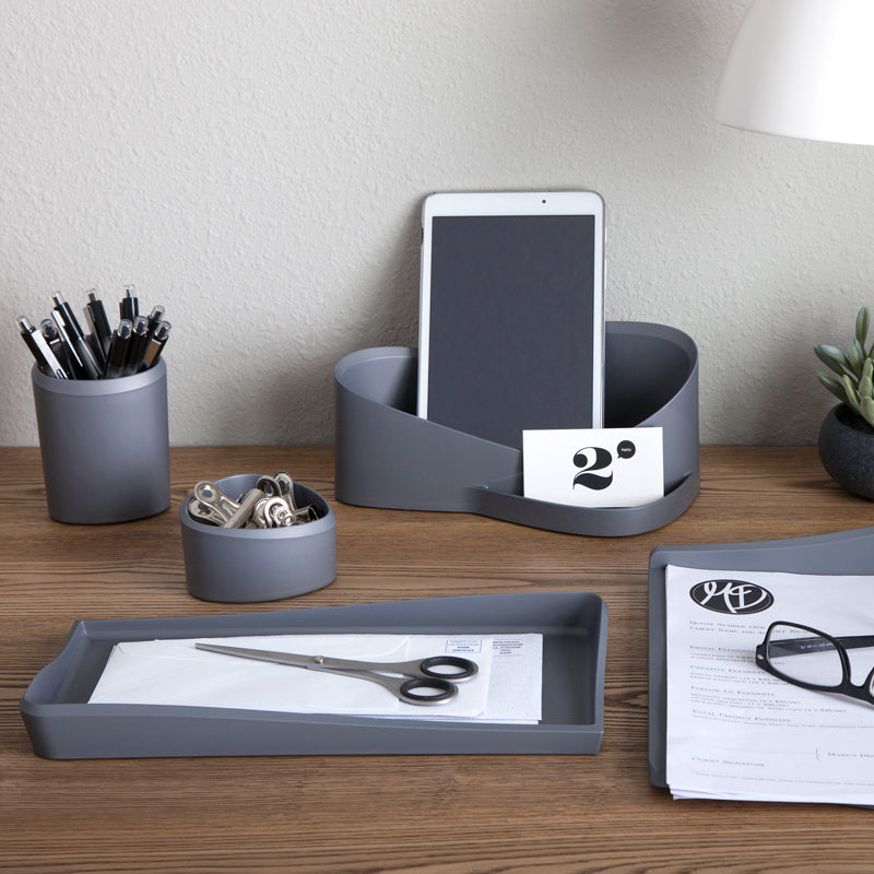 Silhouette™ Nook Tray, Gray - see-jane-work