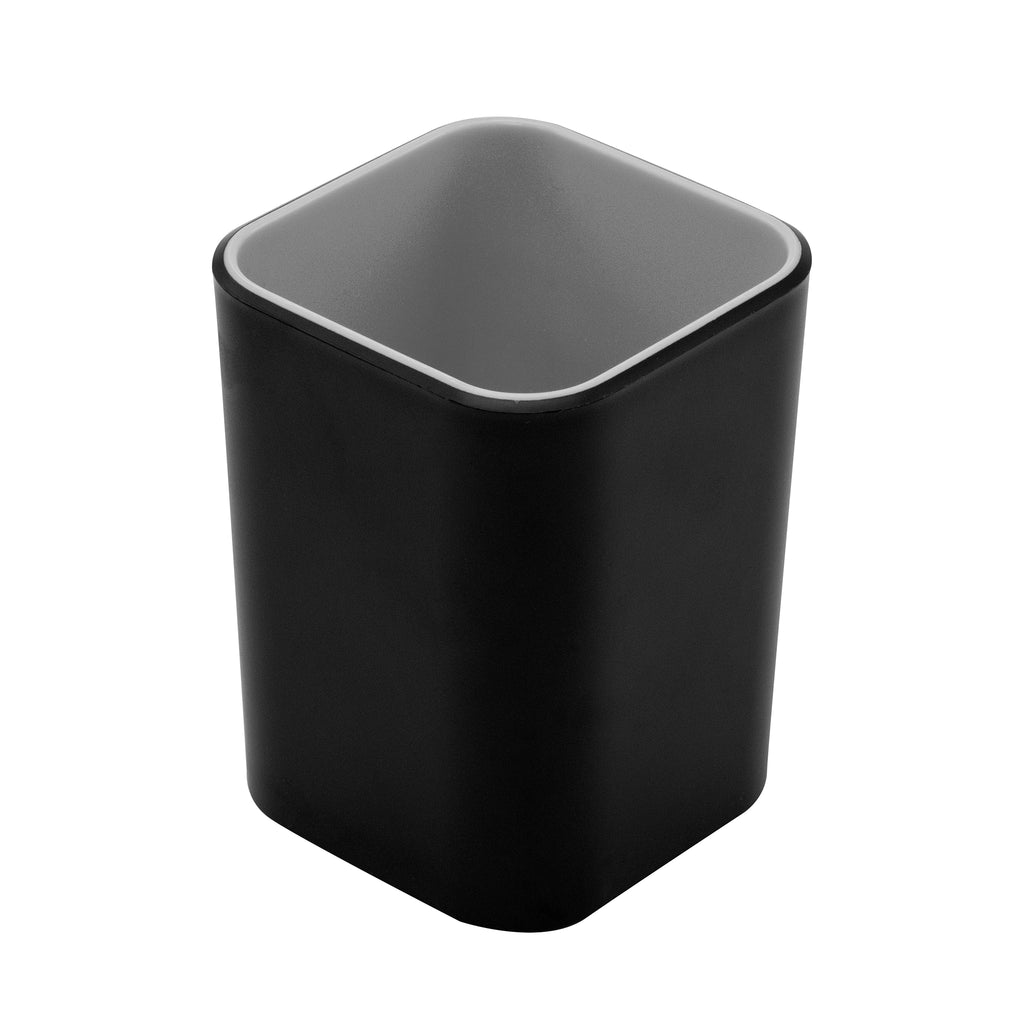 Fusion Pencil Cup - Black and Gray - see-jane-work