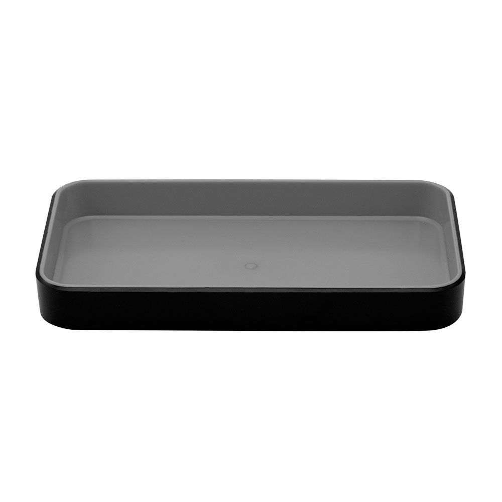 Fusion Small Open Tray - Black and Gray - see-jane-work