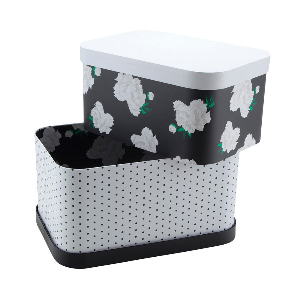 See Jane Work® Nesting Boxes, Floral Dot