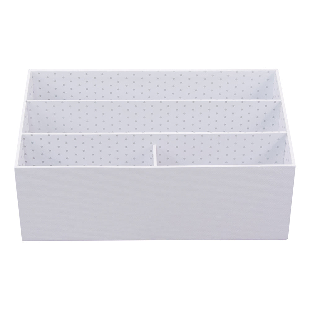 See Jane Work® Desktop Organizer, White - see-jane-work