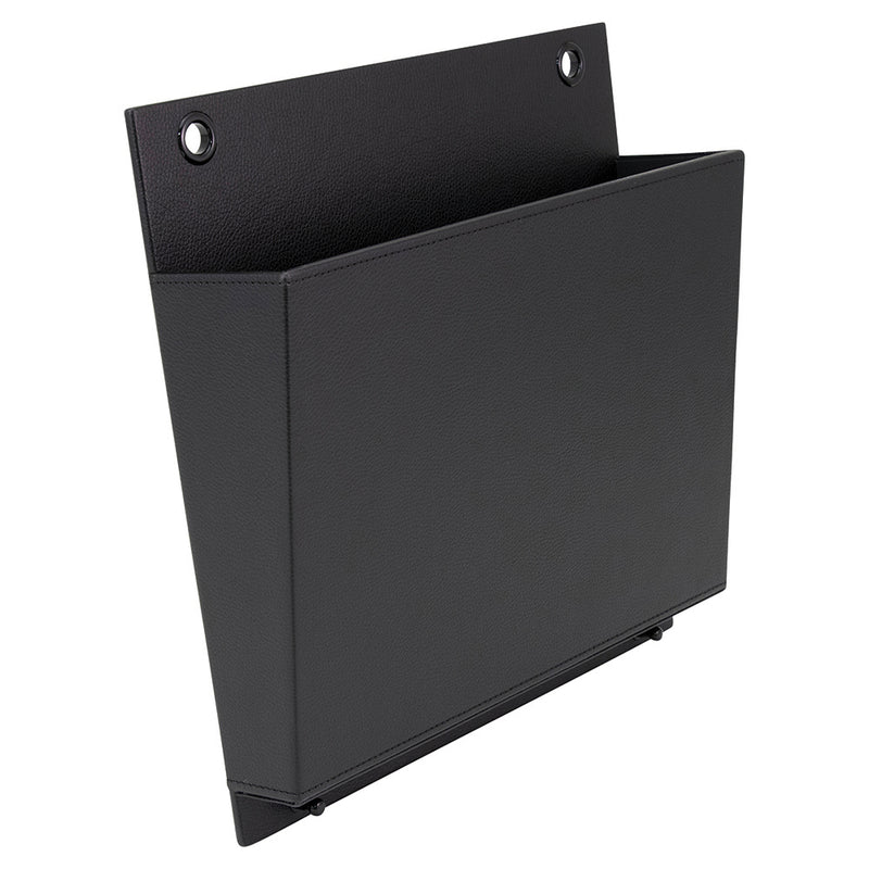 See Jane Work® Faux Leather Hanging Wall File - see-jane-work