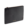 See Jane Work® Faux Leather Clutch, Black - see-jane-work