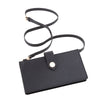 See Jane Work® Faux Leather Crossbody Pouch, Black - see-jane-work