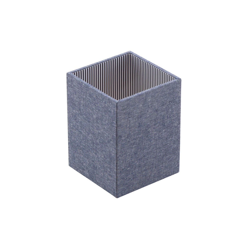 See Jane Work® Pencil Cup, Chambray - see-jane-work