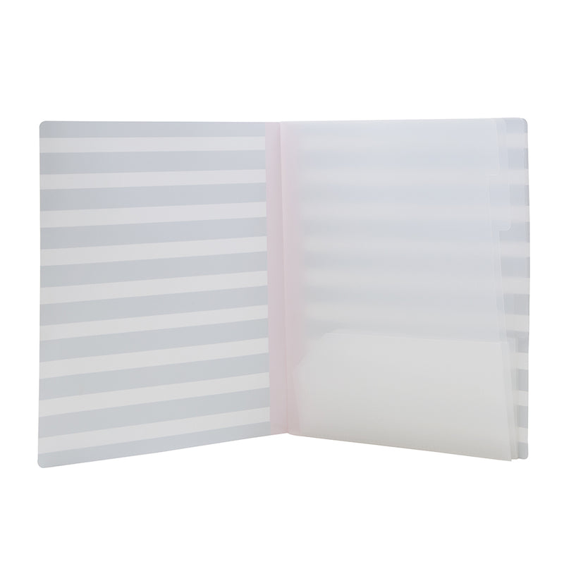 See Jane Work® Project Organizer, Stripe - see-jane-work
