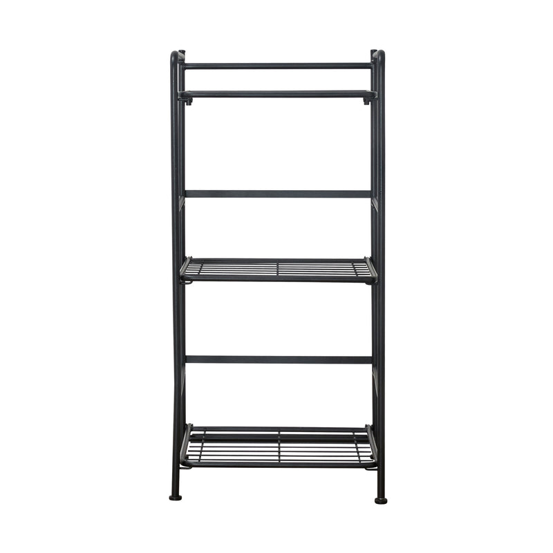 FlipShelf™ 3 Narrow, Black - see-jane-work