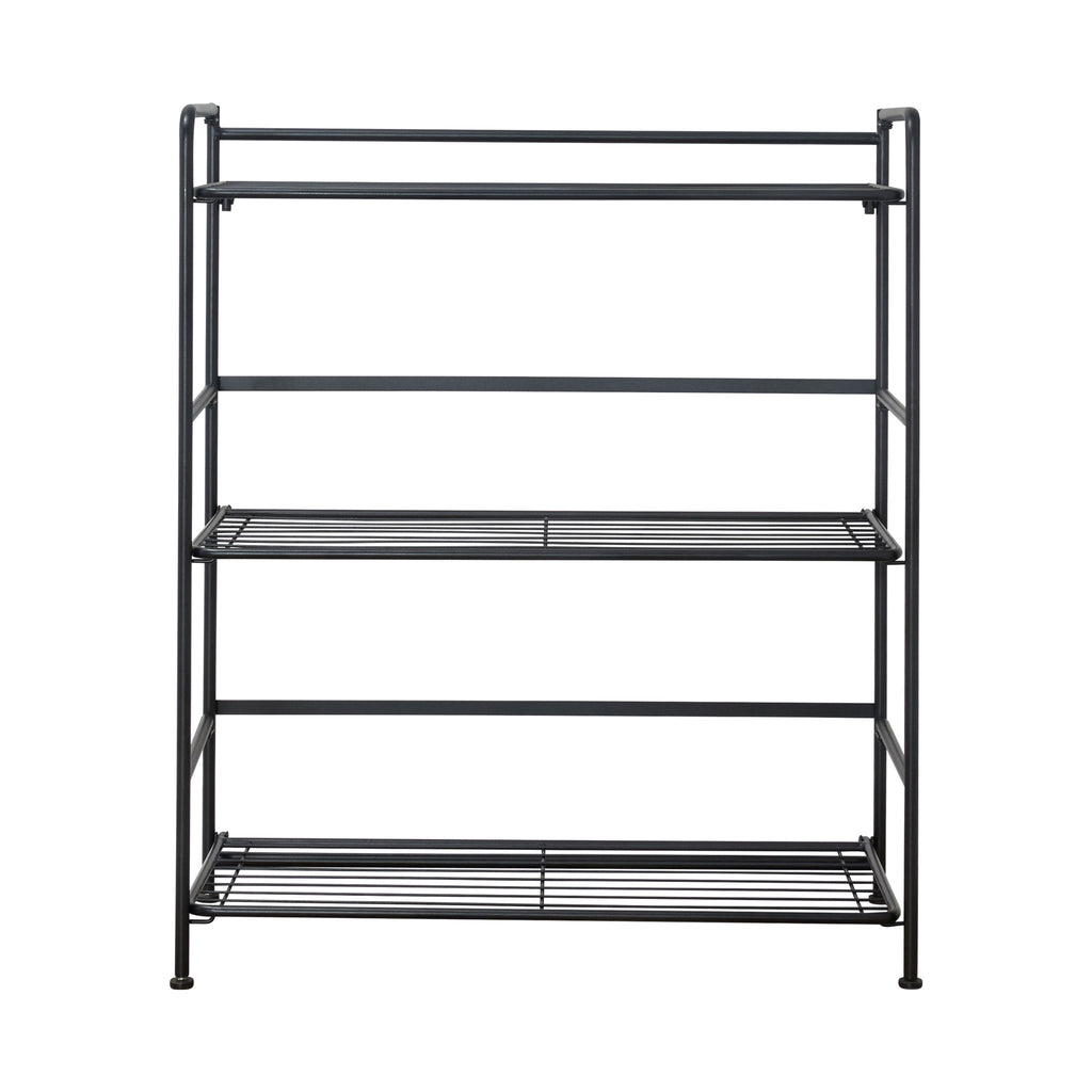 FlipShelf™ 3 Wide, Black - see-jane-work