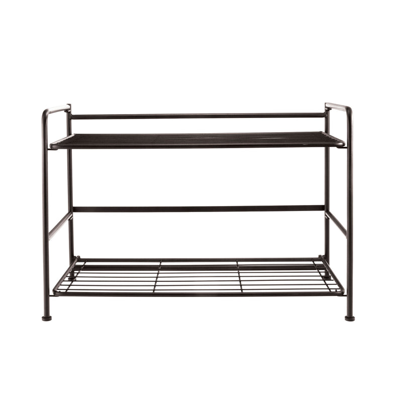 FlipShelf™ 2 Wide, Black - see-jane-work