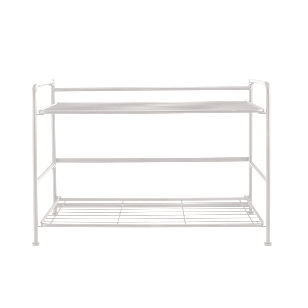 FlipShelf™ 2 Wide, White - see-jane-work