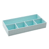 See Jane Work® Desk Tray, Blue Tile