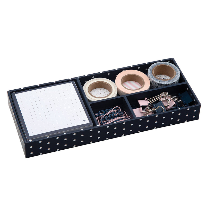 See Jane Work® Supply Box, Navy