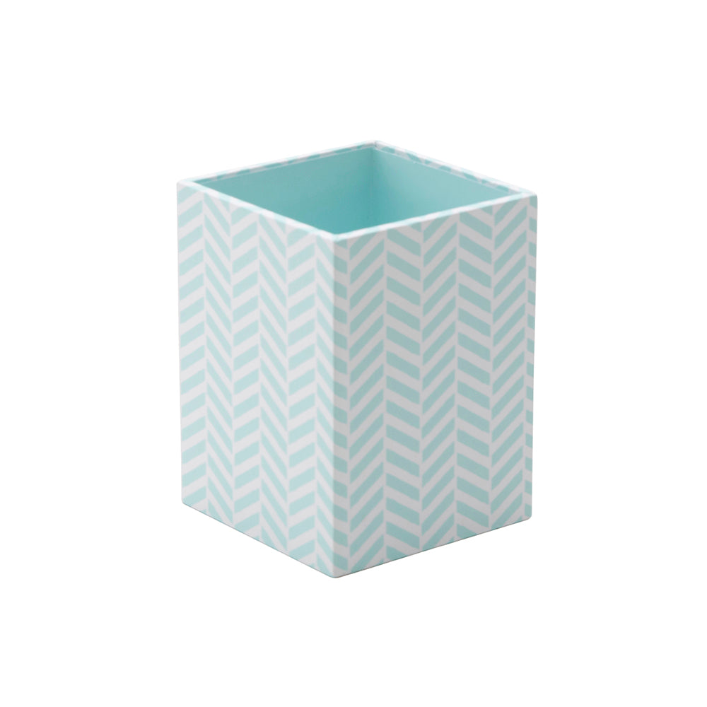 See Jane Work® Pencil Cup, Blue Tile