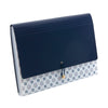 See Jane Work® 13 Pocket Accordion Folder, Navy Geo