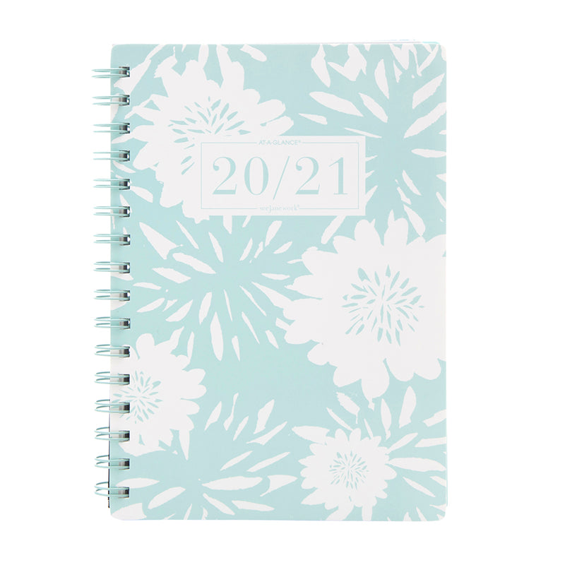 See Jane Work® Blue Floral Weekly/Monthly Planner, Small