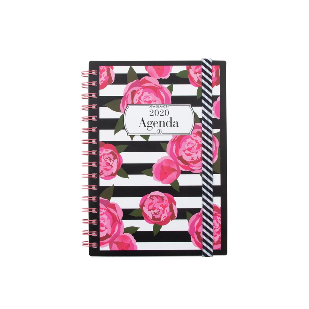 See Jane Work® Stripes in Bloom Weekly/Monthly Planner, Small