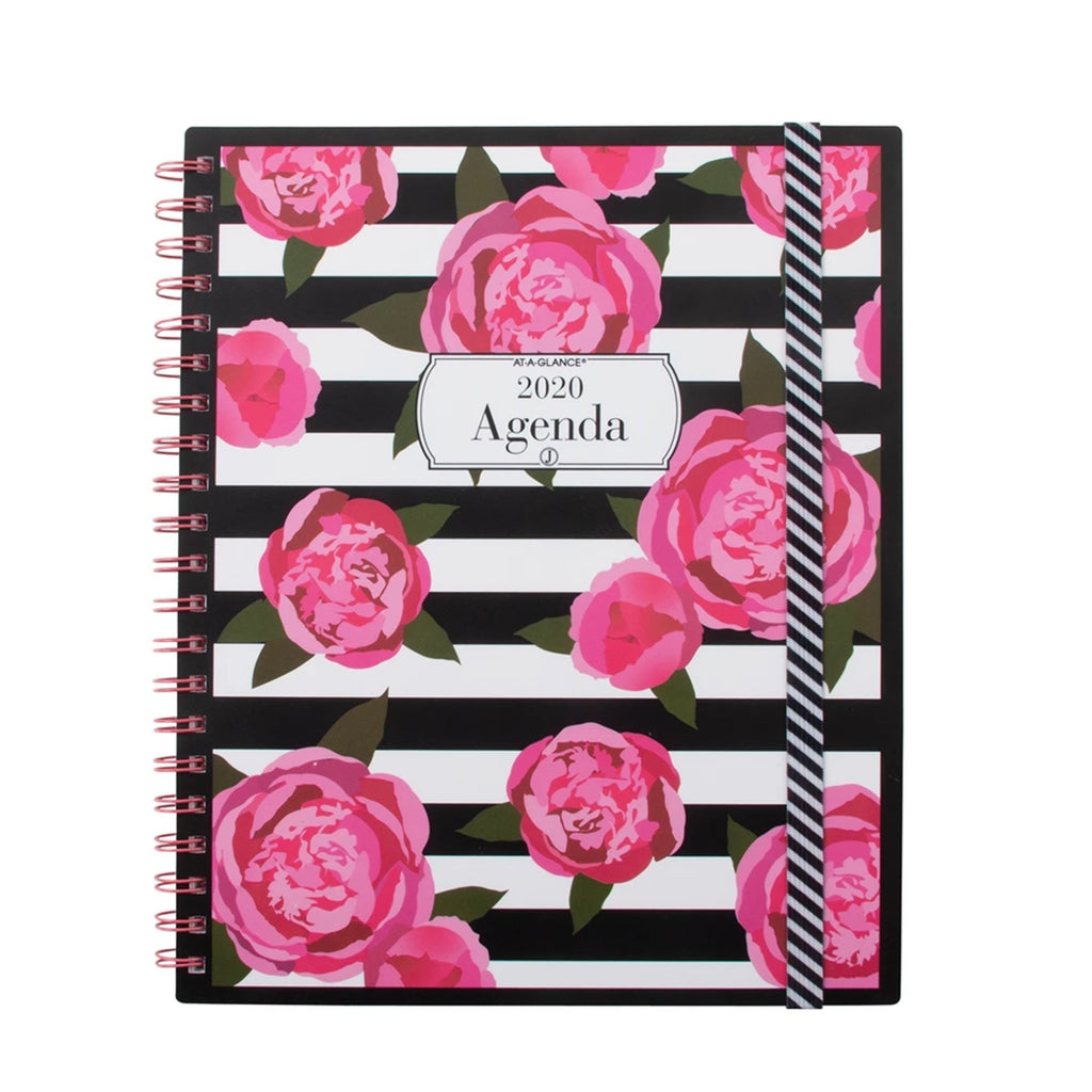 See Jane Work® Stripes in Bloom Weekly/Monthly Planner, Large