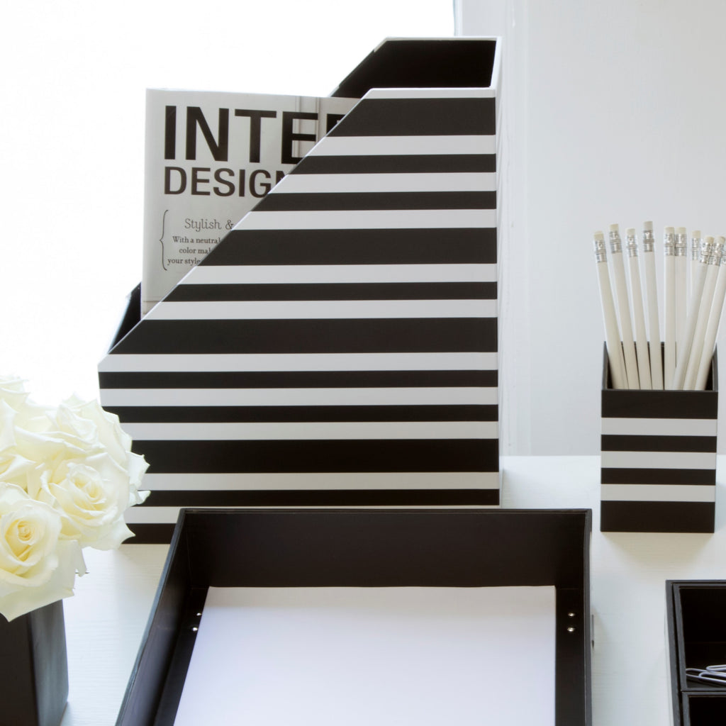 See Jane Work® Magazine File, Stripe - see-jane-work