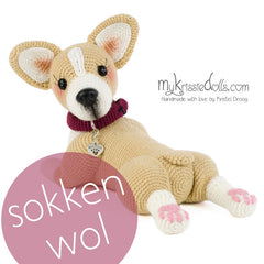 Garenpakket Welsh Corgi Amy