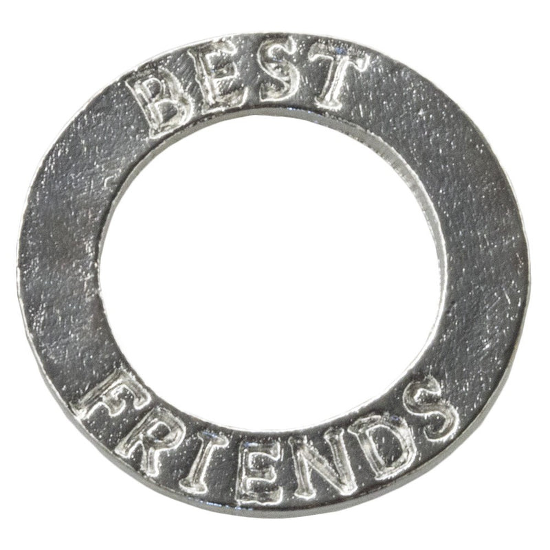 Metalen ring 15 mm Best Friend