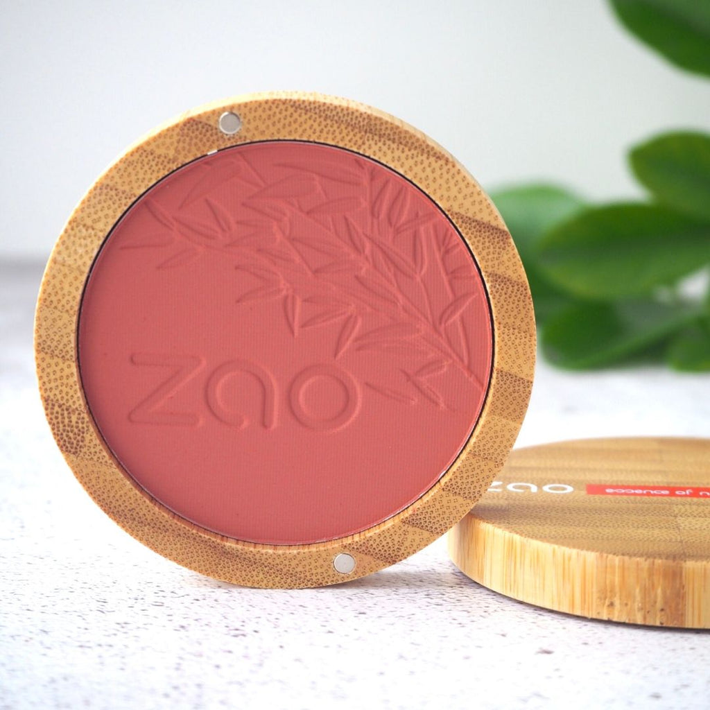 Zao Makeup - Organic Blush Brown Pink