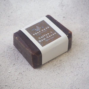 Coffee and Raw Cacao Mini Soap