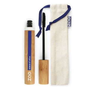 Zao makeup black mascara with packaging