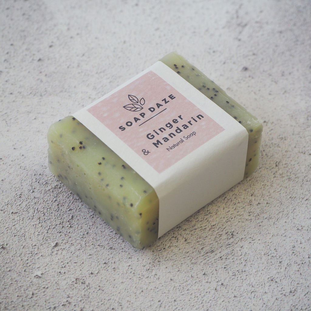 Ginger and Mandarin Mini Soap
