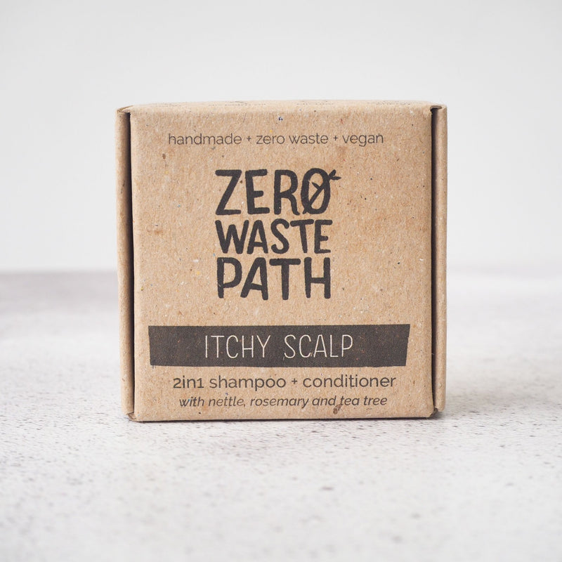 2in1 Solid Shampoo Bar - Itchy Scalp