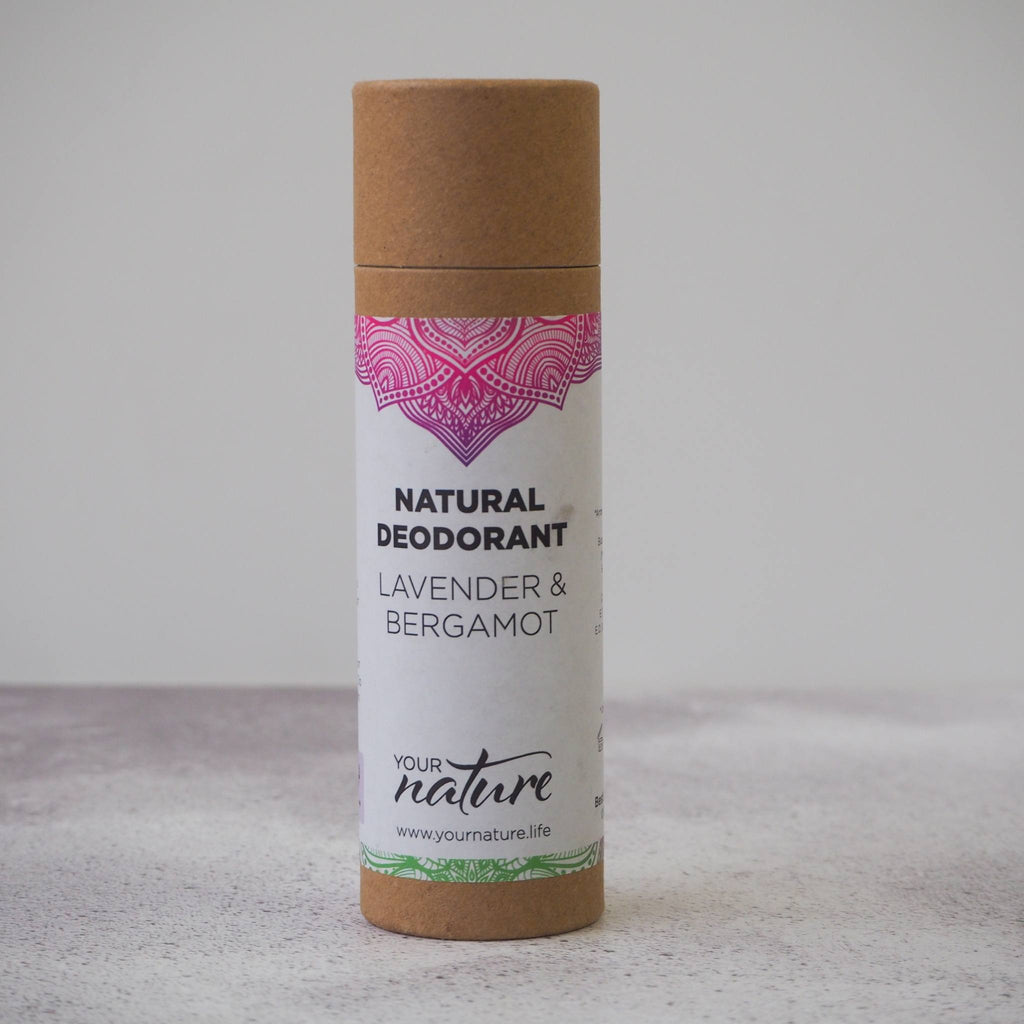 Lavender and Bergamot Natural Vegan Deodorant