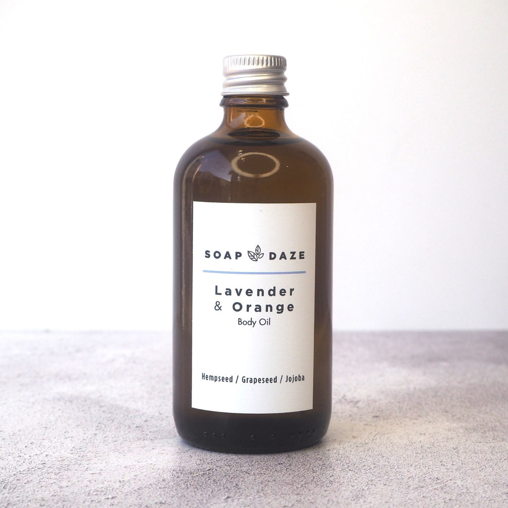 Lavender and Orange Body Oil
