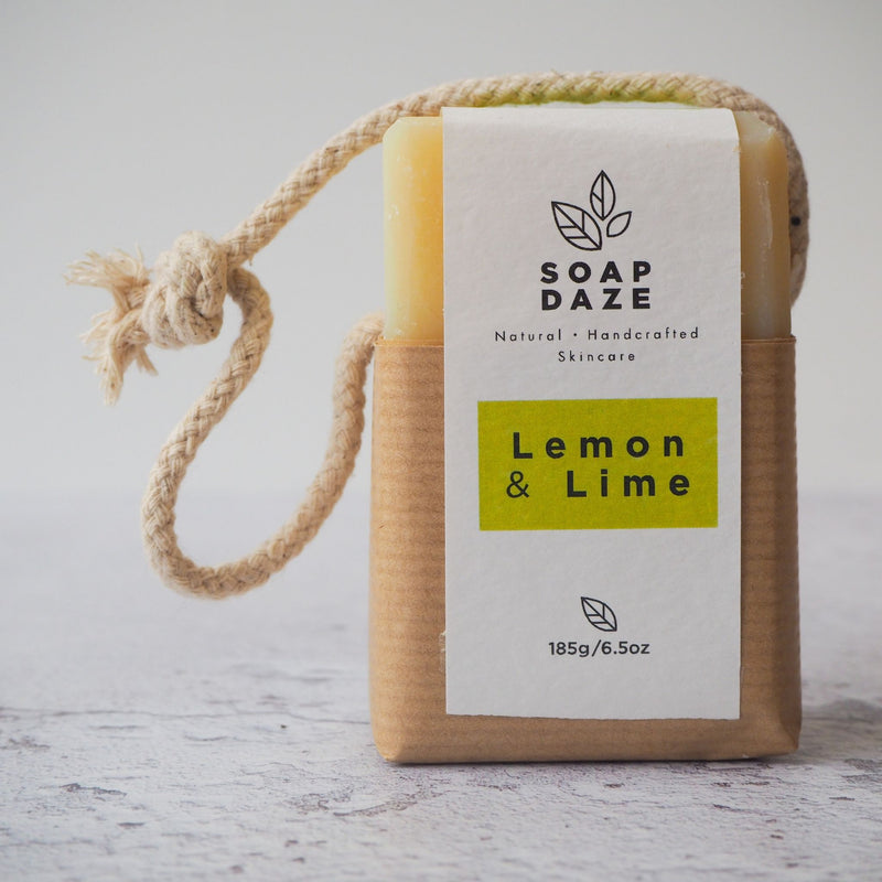 Lemon and Lime Soap on a Rope