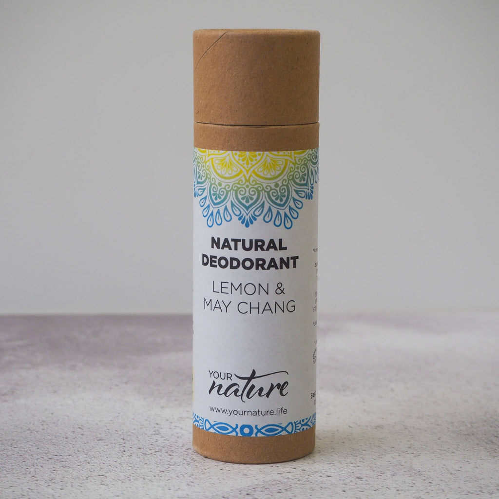 Lemon and May Chang Natural Vegan Deodorant