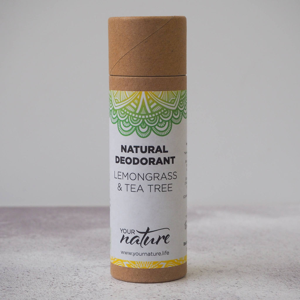 Lemongrass and Tea Tree Natural Vegan Deodorant