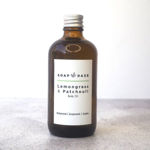 Lemongrass and Patchouli Body Oil