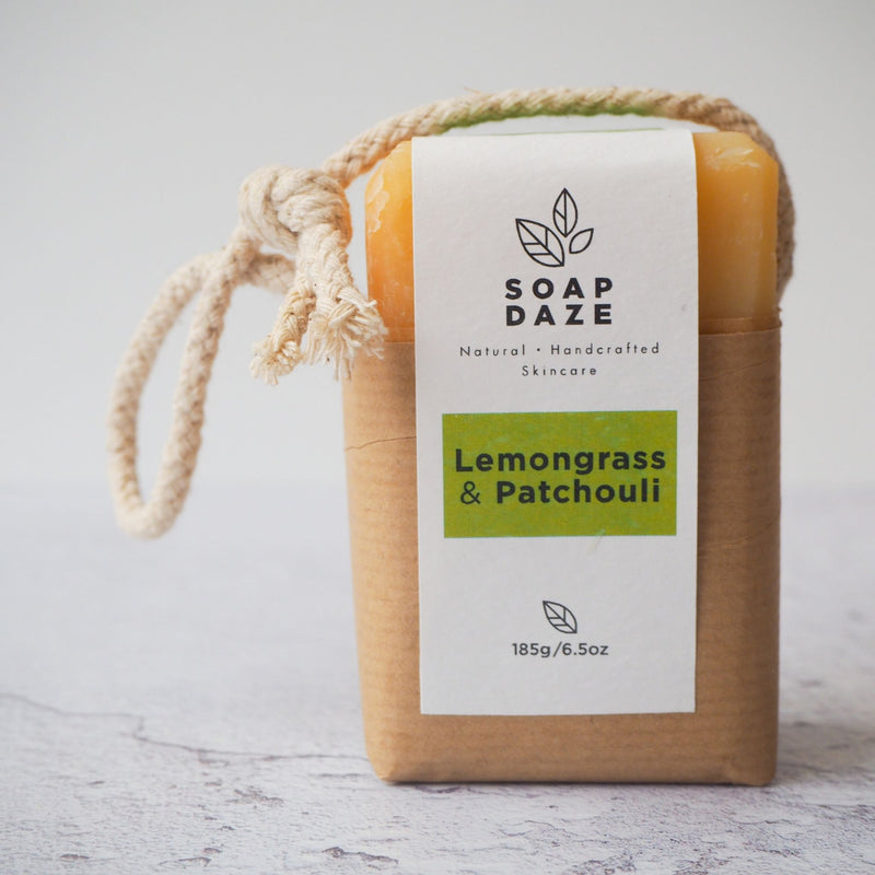 Lemongrass and Patchouli Soap on a Rope