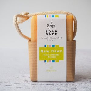 New Dawn Soap on a Rope
