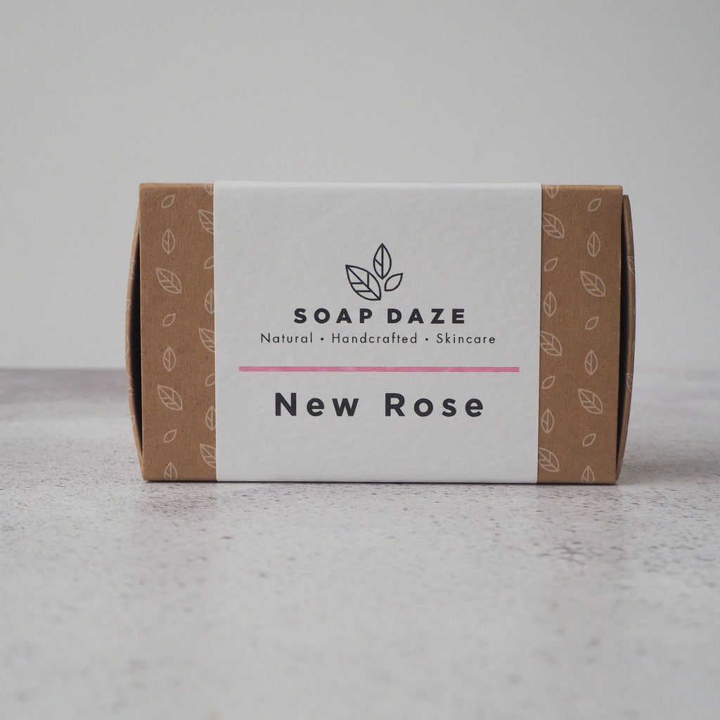 New Rose Bar Soap