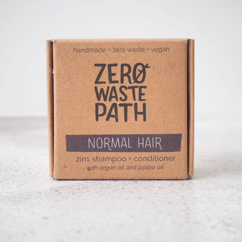 2in1 Solid Shampoo Bar - Normal Hair